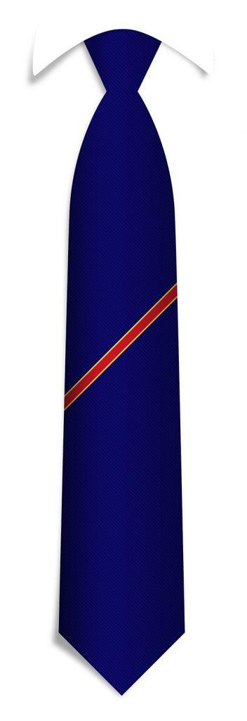 Custom necktie pattern, bespoke striped ties woven in your personalized necktie design