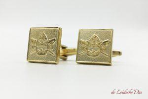 Customized crest cufflinks, custom made cufflinks in your personalized cufflinks design