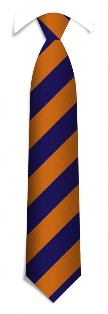 Necktie pattern, bespoke striped ties woven in your personalized tie design