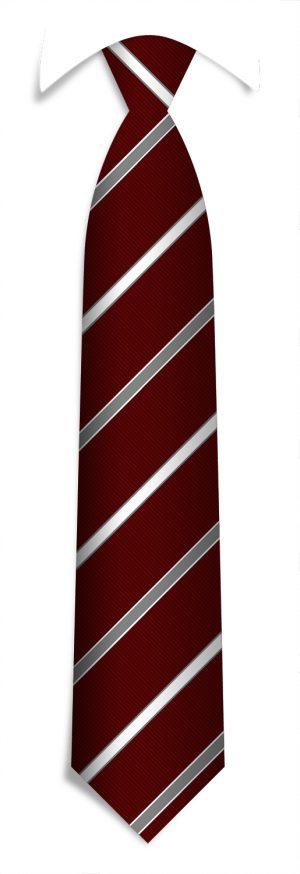 Promotional neckties in a custom pattern