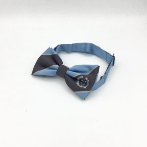 Custom logo bow ties, specially made to order pre-tied bow ties with a logo