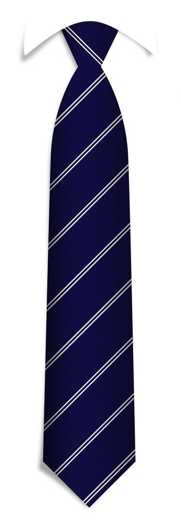 Tailor-made necktie pattern, bespoke striped ties woven in your personalized necktie design