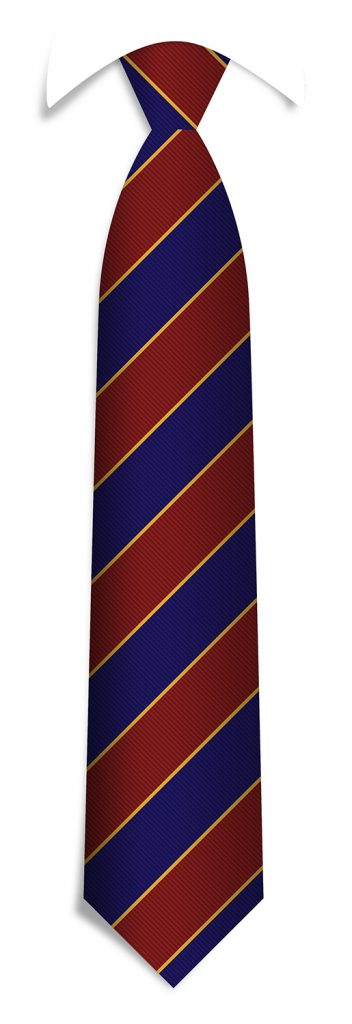 Tailor-made tie pattern, bespoke striped ties woven in your personalized necktie design