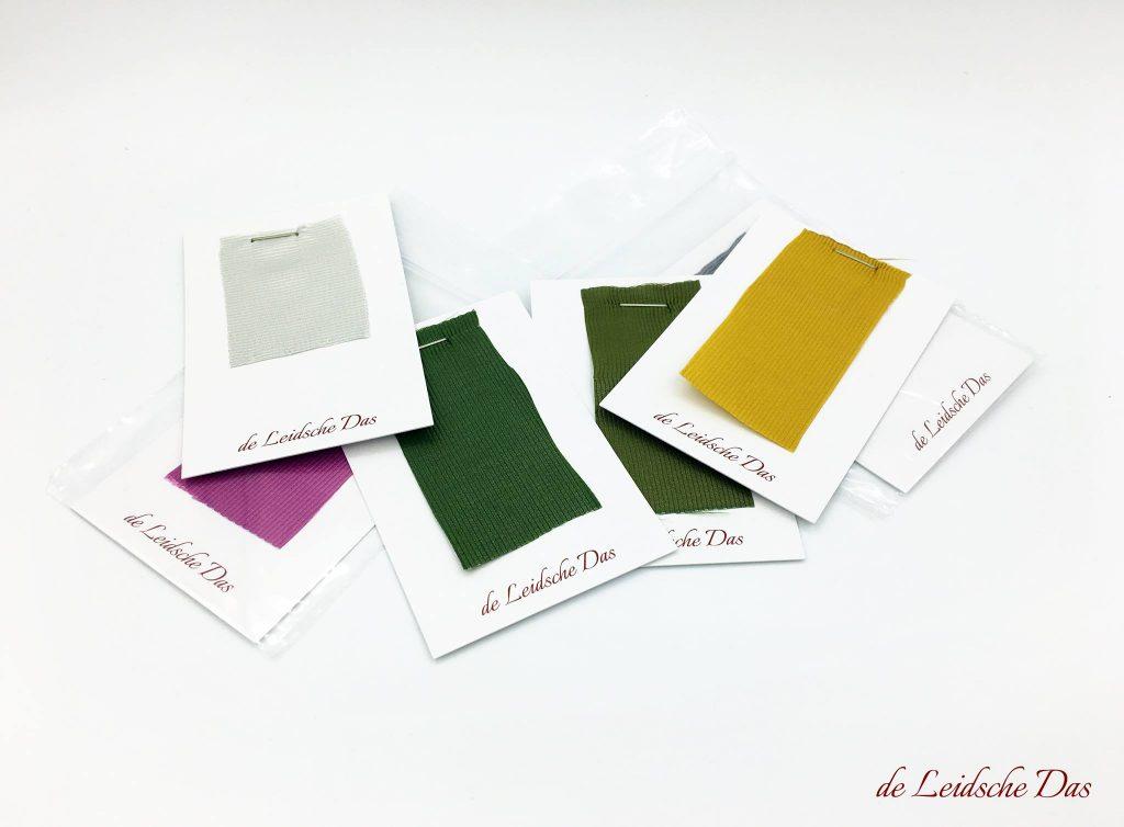 Yarn color custom necktie, the Leidsche Das manufacturer of personalized custom woven neckties