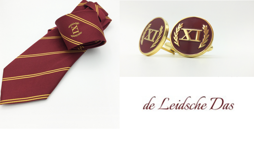 Cufflinks and neckties with your brand logo made in your personalized design