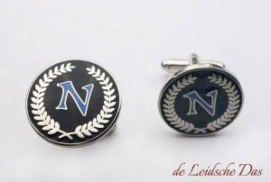 Personalized letter cufflinks custom made to order