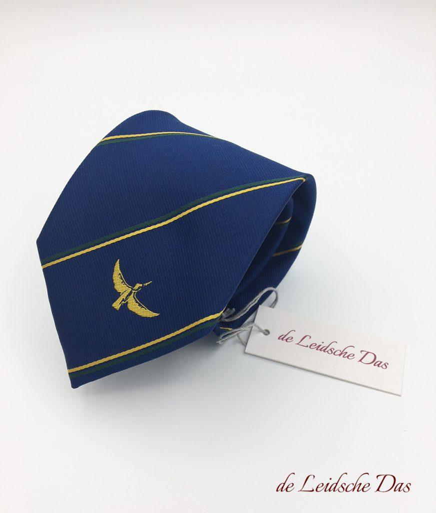 Custom made corporate logo neckwear for your company, custom woven neckties
